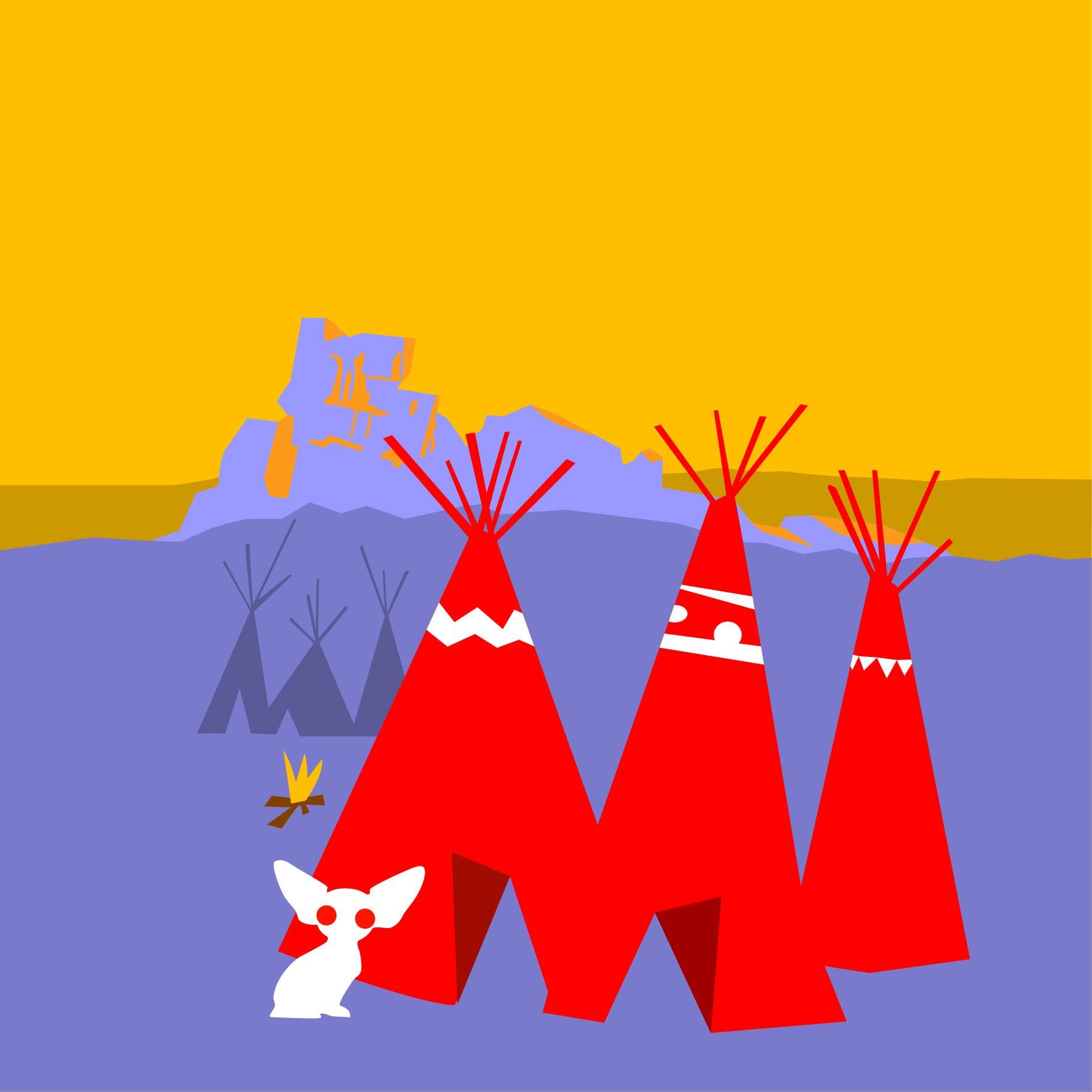 Les grottes de la squaw
